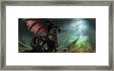 Guardians Framed Print