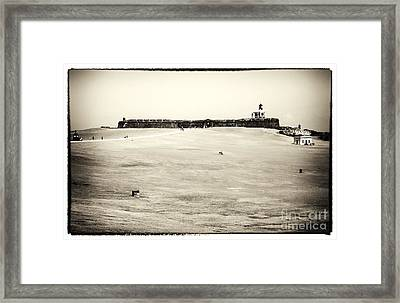Guardians Of The Caribbean Framed Print by John Rizzuto