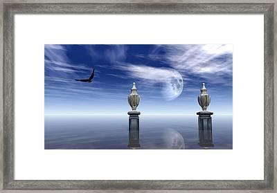 Guardians Of The Earth Framed Print by Georgiana Romanovna