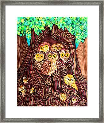 Guardians Of The Forest Framed Print by Nick Gustafson