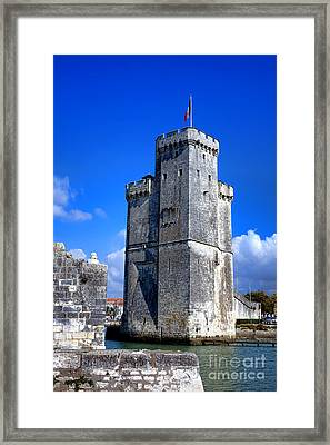 Guarding La Rochelle Framed Print by Olivier Le Queinec