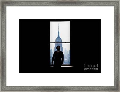 Guarding The Empire Framed Print by Az Jackson