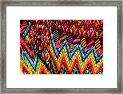 Guatemala, Chichicastenango, Colorful Framed Print by Jaynes Gallery