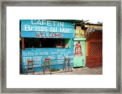 Guatemala, Livingston Framed Print