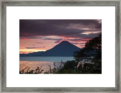 Guatemala, San Juan La Laguna Framed Print by Michael Defreitas