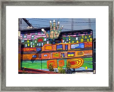 Guatemala Street Art 1 Framed Print by Kurt Van Wagner