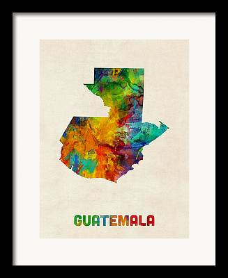 Guatemala Framed Prints