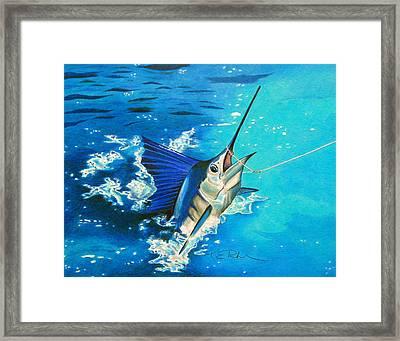 Guatemalan Sailfish Framed Print