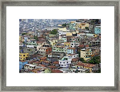 Guayaquil Framed Print by Sami Sarkis