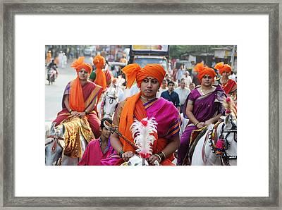 Gudi Padwa Framed Print by Money Sharma