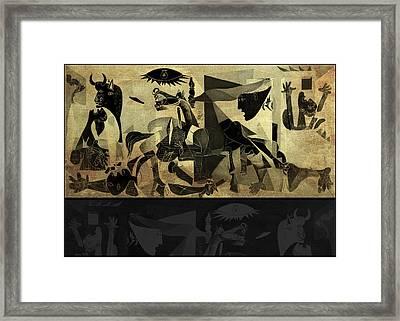 Guernica 14 Framed Print by Filippo B