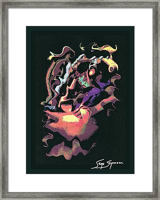 Guernica Framed Print by Serge Seymour