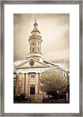Guernsey Building Framed Print by Tom Gowanlock
