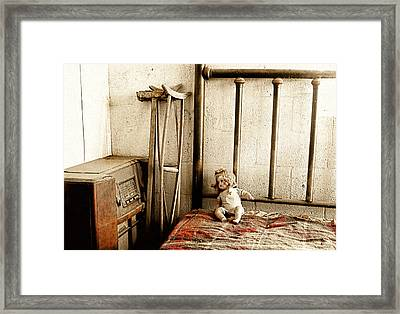 Guest Room Framed Print by Barbara D Richards
