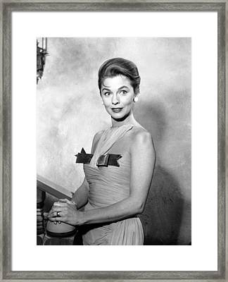 Guestward Ho, Joanne Dru, 1960-61 Framed Print