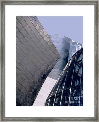 Guggenheim 1 Bilbao Spain Framed Print by Linda  Parker