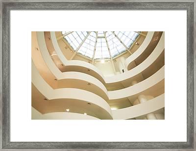 Guggenheim Curves Framed Print