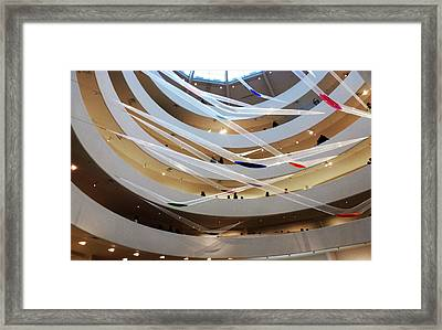 Guggenheim Gutai Framed Print by Christine Burdine