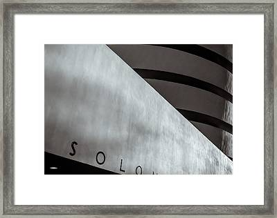Guggenheim In Abstract Framed Print