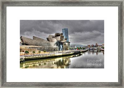 Guggenheim Museum Bilbao  Framed Print by Ines Bolasini