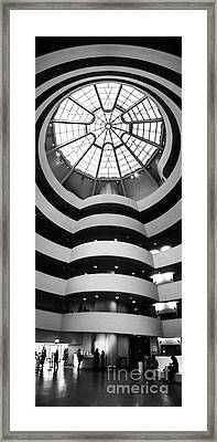 Guggenheim Museum Ground Floor Framed Print