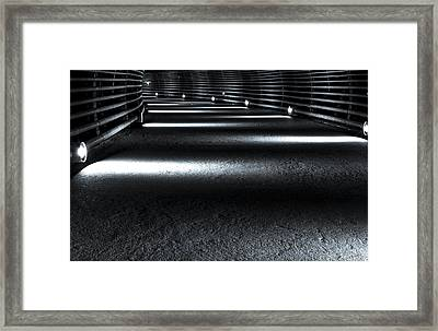 Guided Path Framed Print by David Morefield