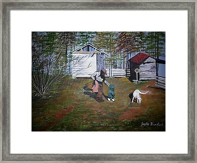 Guiding Hands Framed Print