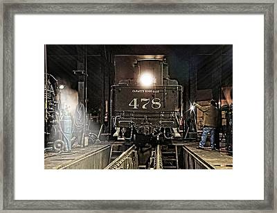 Guiding Light Framed Print by Ken Smith
