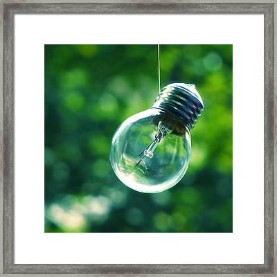 Guiding Light Framed Print by Vesna Viden