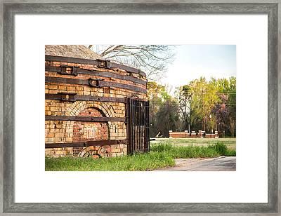 Guignard Brick Works-1 Framed Print