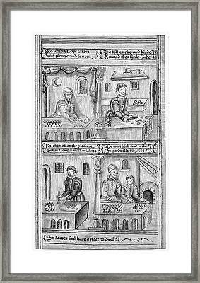 Guilds Baker Framed Print by Granger