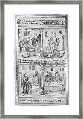 Guilds Bakers Framed Print by Granger
