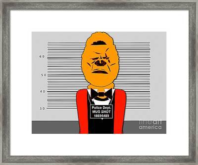 Guilty Ape Framed Print by Marvin Blaine