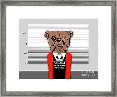 Guilty As Charged Framed Print by Marvin Blaine