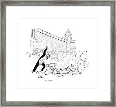 Guilty! Framed Print by Carl Rose