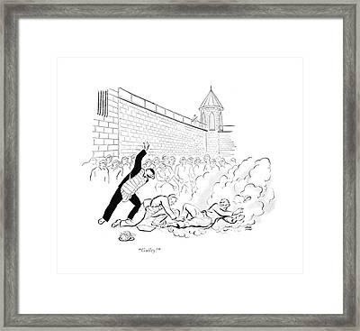 Guilty! Framed Print