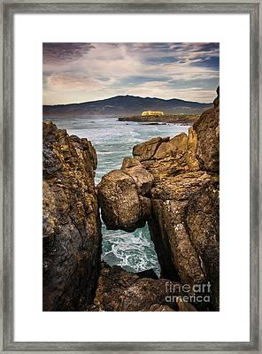 Guincho Coastline Framed Print