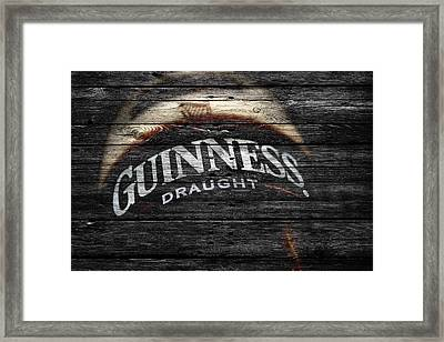 Guiness Framed Print by Joe Hamilton