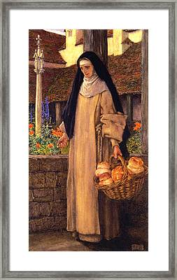 Guinevere Framed Print by Eleanor Fortescue Brickdale