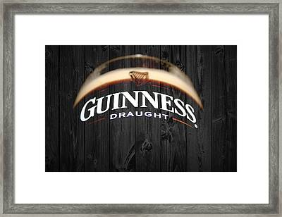 Guinness Framed Print by Dan Sproul