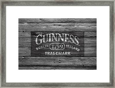 Guinness Framed Print by Joe Hamilton