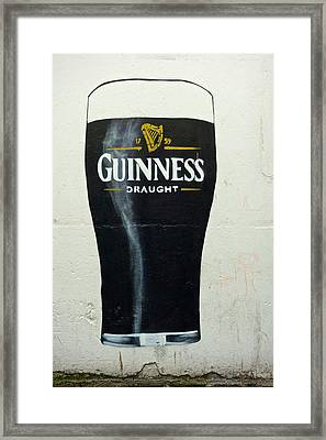 Guinness - The Perfect Pint Framed Print