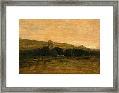 Guisborough Priory, Thomas Girtin, 1775-1802 Framed Print by Litz Collection