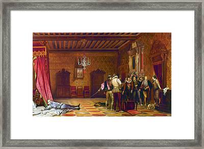 Guise Assassination, 1588 Framed Print by Granger