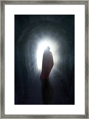 Guise In Tunnel Framed Print by Joana Kruse