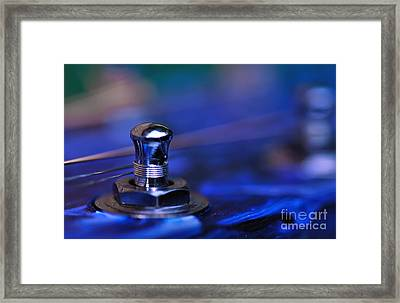 Guitar Abstract 6 Framed Print by Kaye Menner