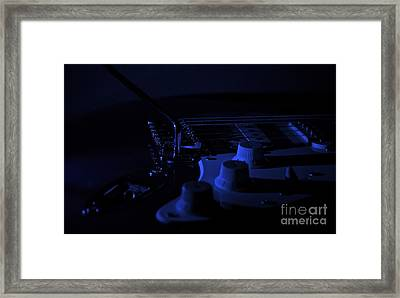 Guitar Blues Framed Print