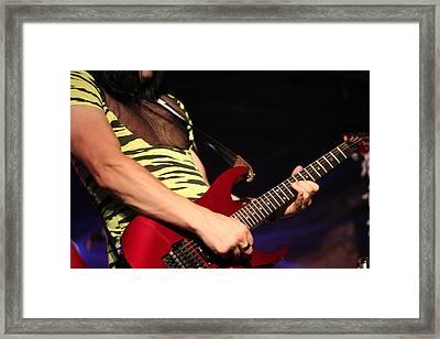 Guitar Framed Print by James Hammen