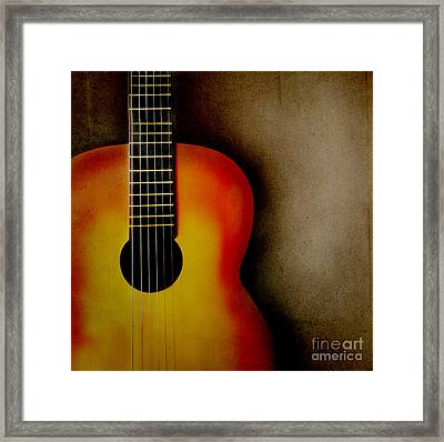 Guitar Framed Print by Jelena Jovanovic