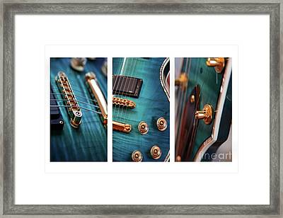 Framed Print featuring the photograph Guitar Life by Joy Watson